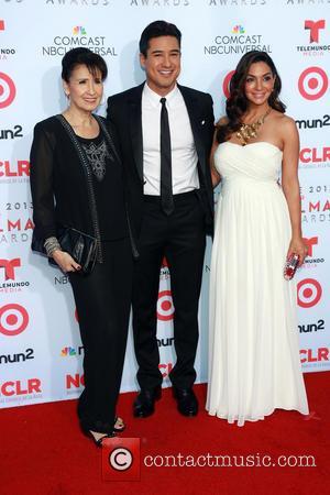 Elvia Lopez, Mario Lopez and Courtney Lopez