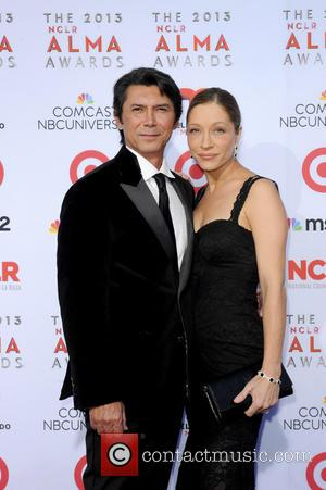 Lou Diamond Phillips and Yvonne Boismier Phillips - The 2013 Alma Awards Arrivals - Los Angeles, CA, United States -...