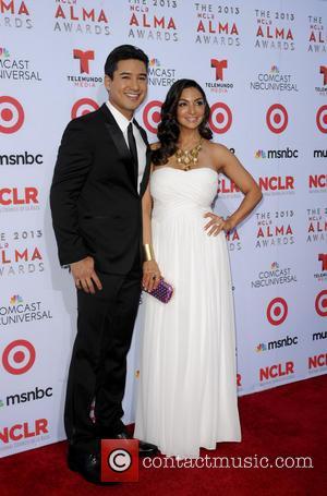 Mario Lopez and Courtney Mazzo