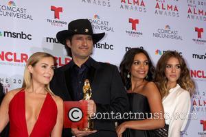 Alexa Vega, Robert Rodriguez, Rosario Dawson and Jessica Alba