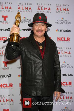 Carlos Santana - 2013 ALMA Awards Press Room - Pasadena, CA, United States - Saturday 28th September 2013