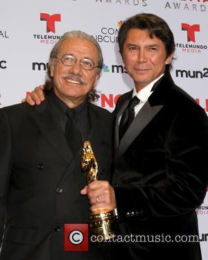 Edward James Olmos and Lou Diamond Phillips - 2013 ALMA Awards Press Room - Pasadena, CA, United States - Saturday...