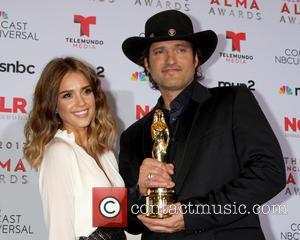 Jessica Alba and Robert Rodriguez