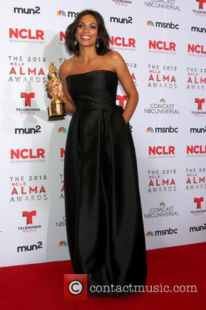 Rosario Dawson And Carlos Santana Are Alma Award Winners