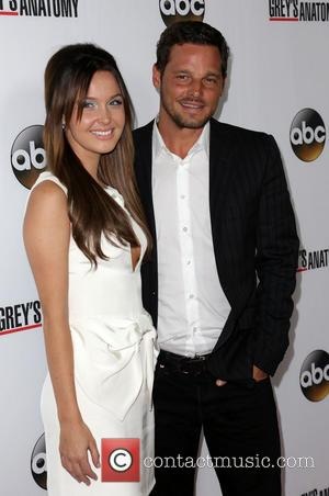 Camilla Luddington and Justin Chambers - The 'Grey's Anatomy' 200th episode party held at The Colony - Arrivals - Los...