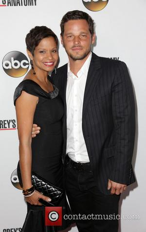 Keisha Chambers and Justin Chambers - The 'Grey's Anatomy' 200th episode party held at The Colony - Arrivals - Los...