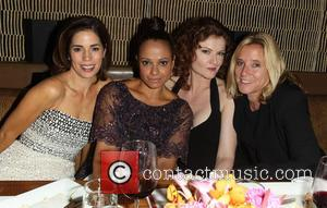 Ana Ortiz, Judy Reyes, Rebecca Wisocky and Nina Lederman - Eva Longoria Foundation Dinner at her restaurant Beso in Hollywood...