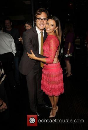 Diego Boneta and Eva Longoria - Eva Longoria Foundation Dinner at her restaurant Beso in Hollywood sponsored by Target -...