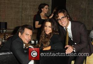 Len Wiseman, Kate Beckinsale and Diego Boneta