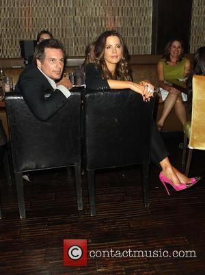 Len Wiseman and Kate Beckinsale - Eva Longoria Foundation Dinner at her restaurant Beso in Hollywood sponsored by Target -...