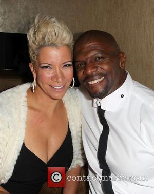 Rebecca Crews and Terry Crews