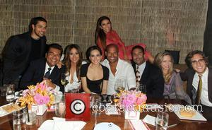 Wilmer Valderrama, George Lopez, Jackie Guerrido, Ana De La Reguera, Amaury Nolasco, Diego Boneta and Eva Longoria