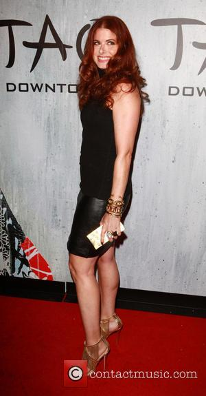 Debra Messing - TAO Downtown Opening Night at The Maritime Hotel - Arrivals - New York City, NY, United States...
