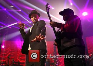 Justin Timberlake - Justin Timberlake performing on stage during the iTunes Festival held at the Roundhouse in Camden - London,...