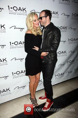 Jenny McCarthy and Donnie Wahlberg - JENNY MCCARTHY Hosts At 1Oak Nightclub Inside Mirage Hotel and Casino In Las Vegas,...