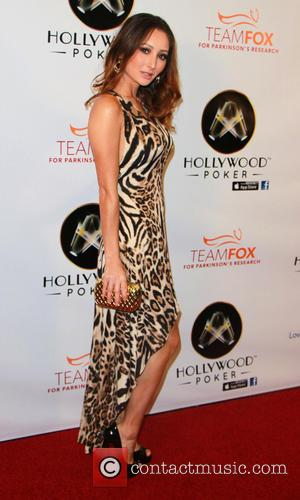 Amy Markham - Hollywood Poker Celebrity Invitational benefiting Michael J. Fox Team Fox and Leyna Nguyen's Lato - Las Vegas,...