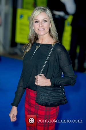 Tamsin Outhwaite - UK premiere of Filth held at the Odeon - Arrivals - London, United Kingdom - Monday 30th...