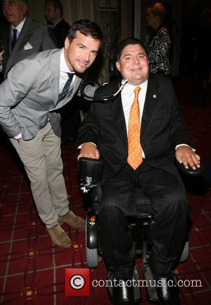 Matthew Settle and Marc Buoniconti - 28th Annual Great Sports Legends Dinner to benefit The Buoniconti Fund to cure paralysis...