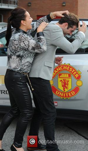 Matt Johnson - Manchester United Ladies Lunch - Departures - Manchester, United Kingdom - Monday 30th September 2013