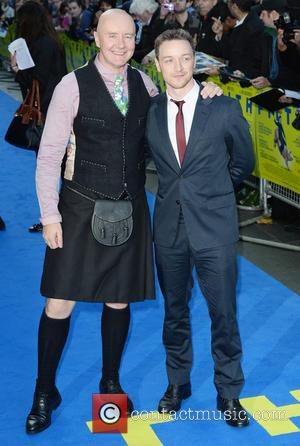 Irvine Welsh and James McAvoy