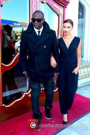 Sam Sarpong and Vanessa Curry - Sam Sarpong and Vanessa Curry spotted leaving the Hollywood historic hotel - Hollywood CA...