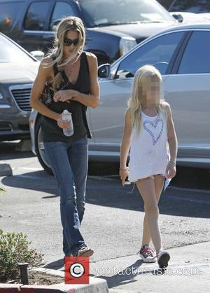 Denise Richards and Lola Rose Sheen - Denise Richards looking for a pet dog with her daughter Lola Rose Sheen...