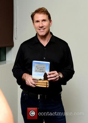Nicholas Sparks - Author Nicholas Sparks promotes his book 'The Longest Ride' presented by Books and Books - Miami, FL,...