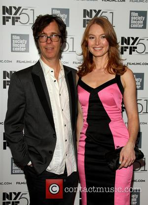 Ben Folds and Alicia Witt - 51st New York Film Festival - About Time - Premiere at Alice Tully Hall...