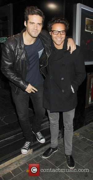 Spencer Matthews and Andy Jordan - The afterparty for the UK premiere of 'Filth' held at INK - Outside -...