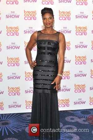 Denise Lewis - held at the Grosvenor House - Arrivals. - London, United Kingdom - Wednesday 2nd October 2013