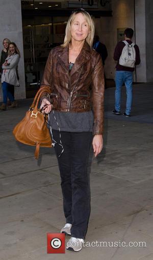 Carol McGiffin - Carol McGiffin leaving the Radio 1 Studios in Central London. - London, United Kingdom - Wednesday 2nd...