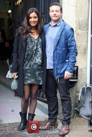 Shelley Conn and Warren Brown - Shelley Conn and Warren Brown outside the ITV studios - London, United Kingdom -...