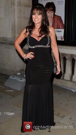 Linda Lusardi - The Inspiration Awards For Women 2013 at Cadogan Hall  - Arrivals - London, United Kingdom -...