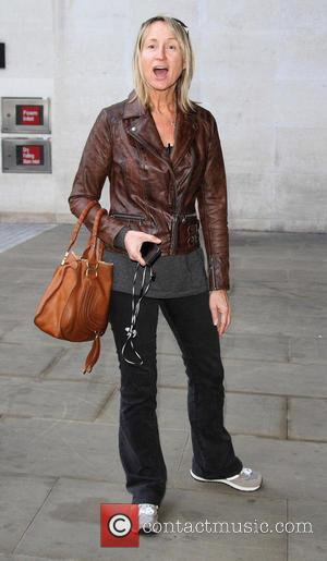Carol McGiffin - Celebrities outside BBC Radio in London - London, United Kingdom - Wednesday 2nd October 2013
