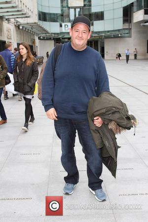 Johnny Vegas - Celebrities outside BBC Radio in London - London, United Kingdom - Wednesday 2nd October 2013