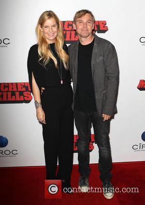Andrea Schroder and Ricky Schroder