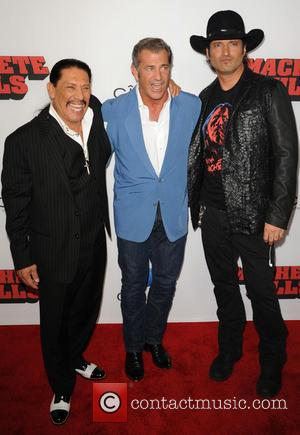 Danny Trejo, Mel Gibson and Robert Rodriguez