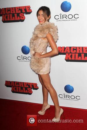 Fernanda Romero - Los Angeles premiere of 'Machete Kills' held at Regal Cinemas L.A. Live - Los Angeles, California, United...