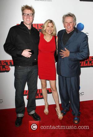Jake Busey, Steffanie Busey and Gary Busey