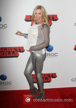 Shannon Tweed - Los Angeles premiere of 'Machete Kills' held at Regal Cinemas L.A. Live - Los Angeles, California, United...