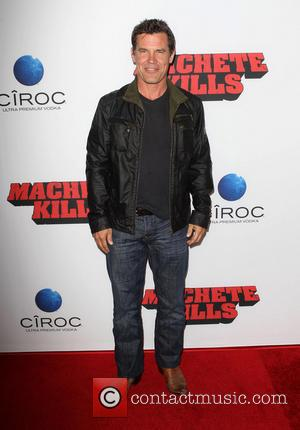 Josh Brolin - Los Angeles premiere of 'Machete Kills' held at Regal Cinemas L.A. Live - Los Angeles, California, United...