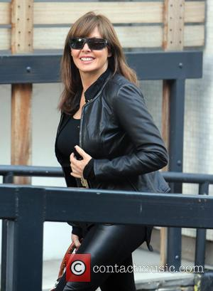 Carol Vorderman - Carol Vorderman outside the ITV studios - London, United Kingdom - Thursday 3rd October 2013