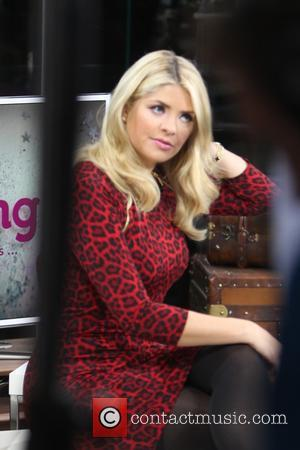 Holly Willoughby - ITV This Morning 25 years anniversary show from Liverpool Docks - Liverpool, United Kingdom - Thursday 3rd...