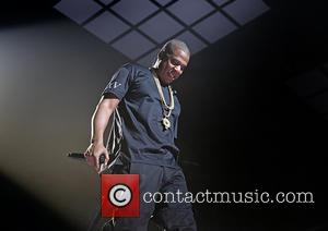 Jay-Z - Jay-Z performing live in concert on the opening night of the UK leg of the Magna Carter World...