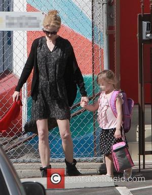 Nicole Kidman and Sunday Rose Urban