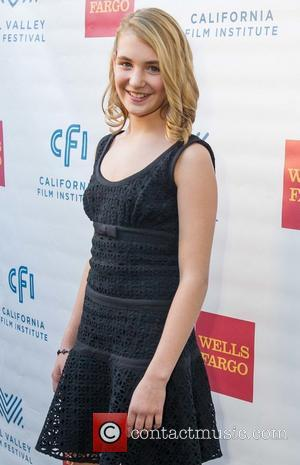 Sophie Nelisse - Mill Valley Film Festival 2013 - Opening Night - San Francisco, United States - Thursday 3rd October...