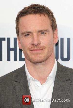 One Michael Fassbender. One Giant Ceramic Head. It's Sundance 2014.