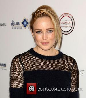 Caity Lotz - Celebrities attend Los Angeles Premiere of KILL YOUR DARLINGS at Writers Guild of America Theatre. - Los...