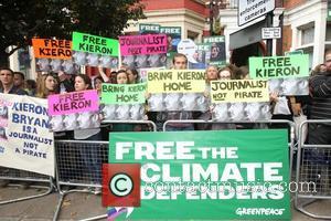 Jude Law, Damon Albarn, Free and Greenpeace