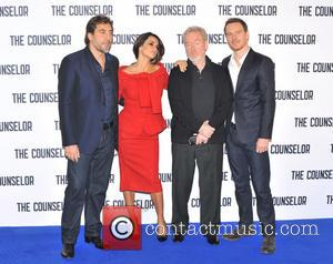 Javier Bardem, Penelope Cruz, Ridley Scott and Michael Fassbender